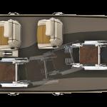 Rolstoeltoegang is mogelijk via de achterzijde of zijkant