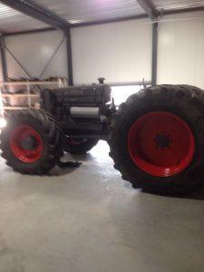 Tractorproject oldtimer restauratie door Maijers Techniek